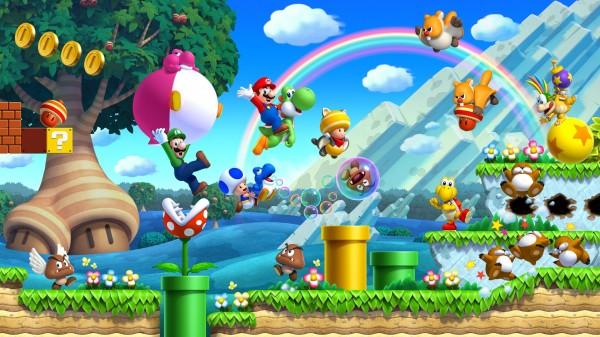 Photo of New Super Mario Bros. U – Com a Wii U eu posso