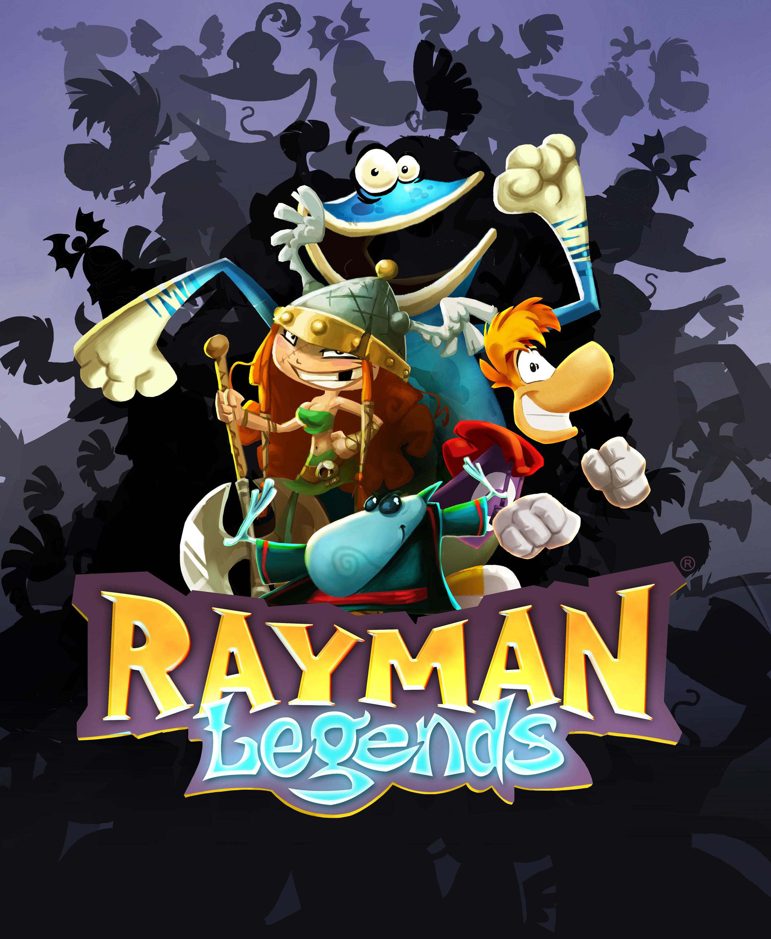 Rayman Legends poster