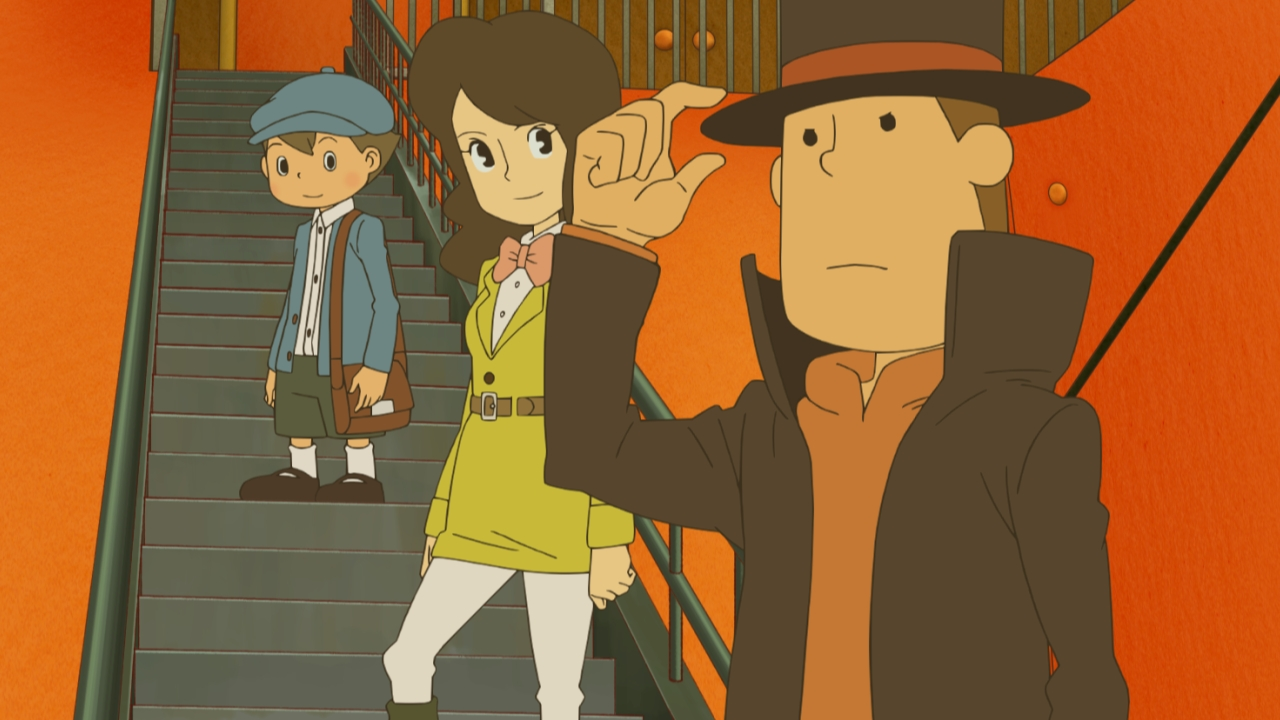 Professor Layton and the Azran Legacy_Animation02