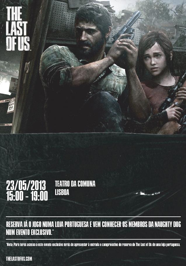 The Last of Us evento Lisboa