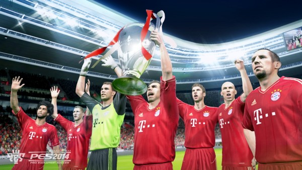 PES 2014 new banner