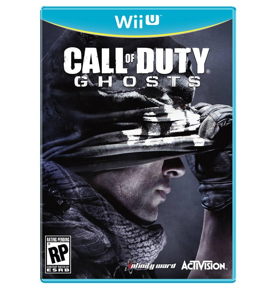 Call of Duty Ghosts Wii U box art