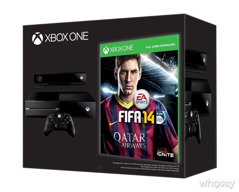 Xbox One FIFA14 bundle