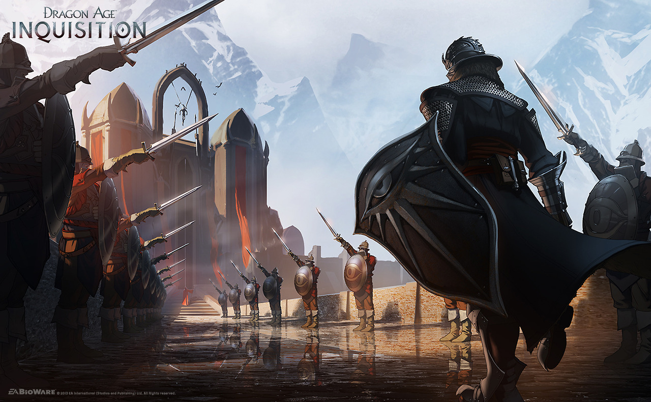 Photo of Novas imagens e arte conceptual de Dragon Age: Inquisition