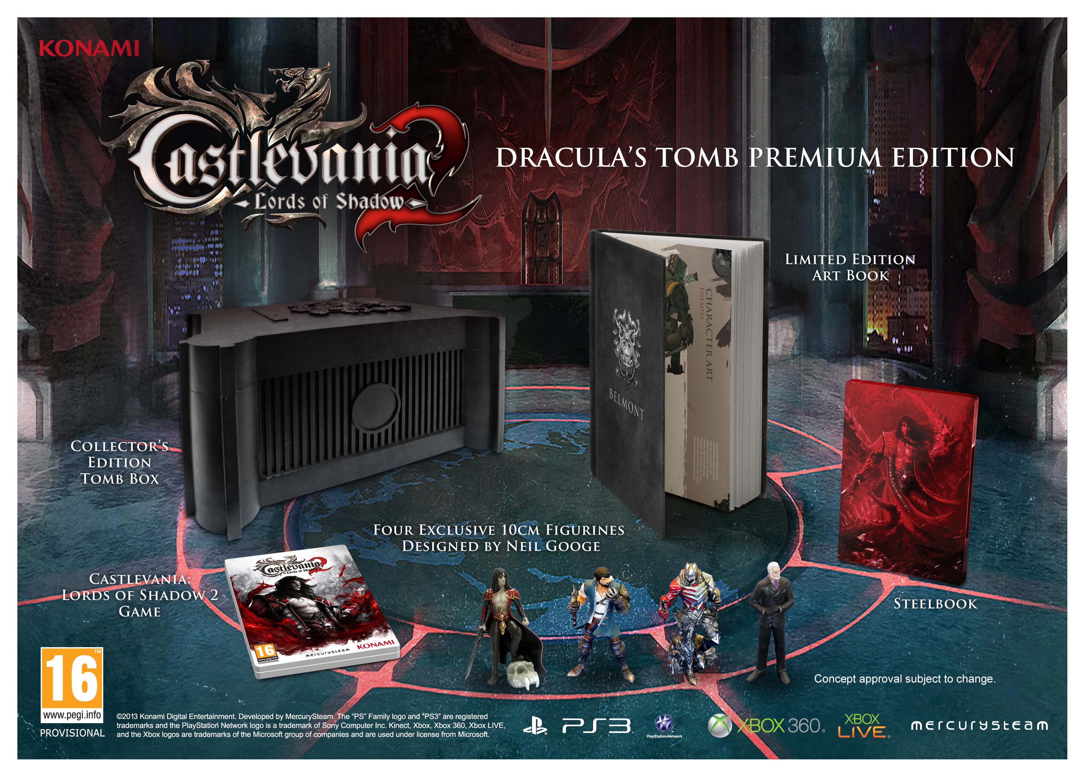 Castlevania Lords of Shadows 2 Dracula's Tomb Premium Edition