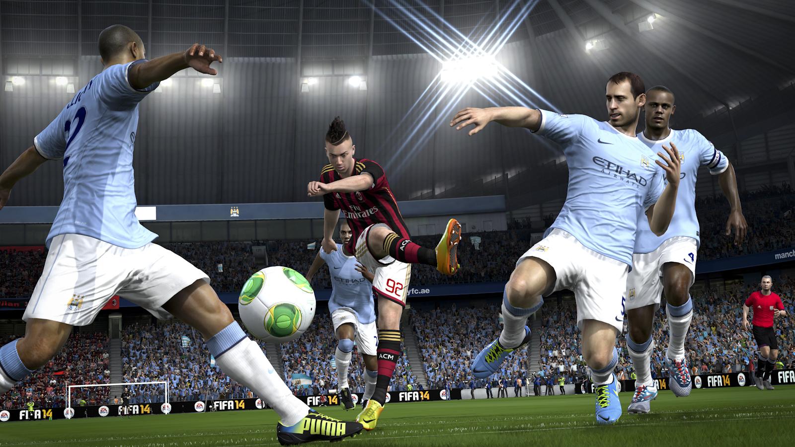 Phenomenal Novas Imagens Das Versoes Ps4 E Xbox One De Fifa 14 Zwame Jogos Short Hairstyles Gunalazisus