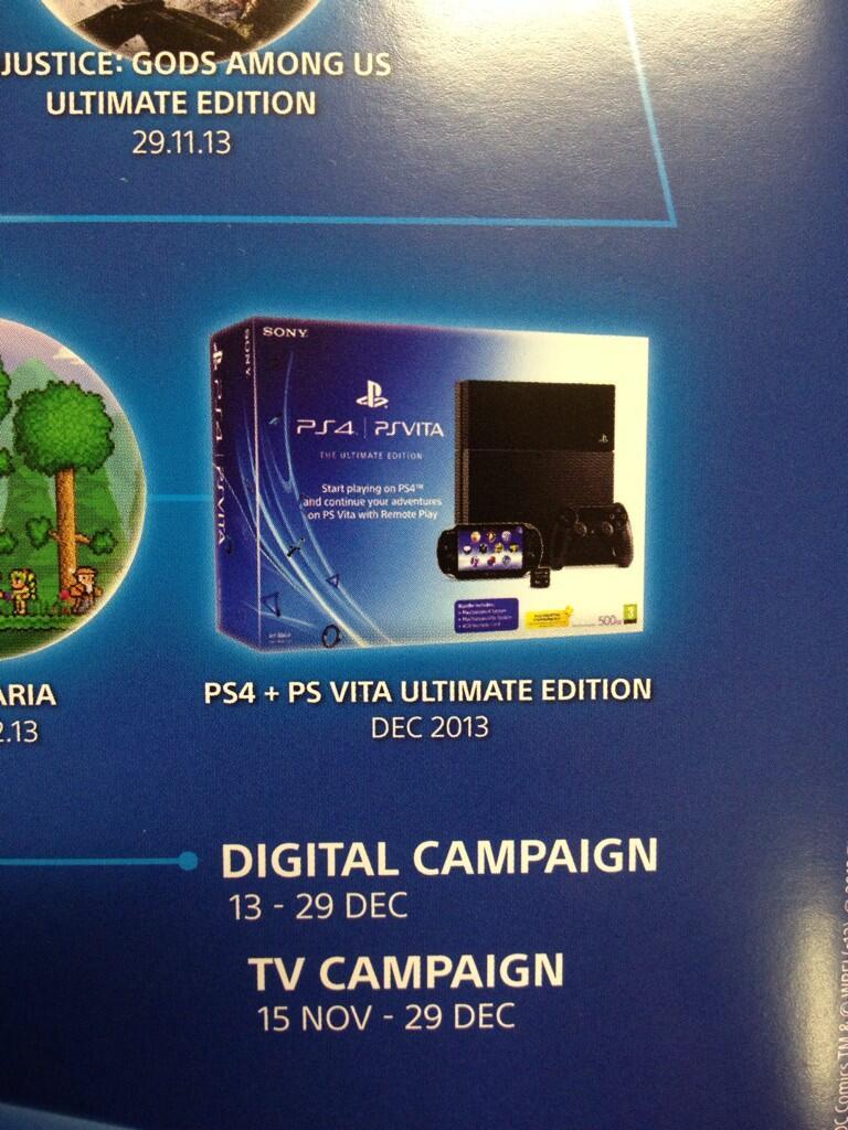 PS4 & PSVita bundle
