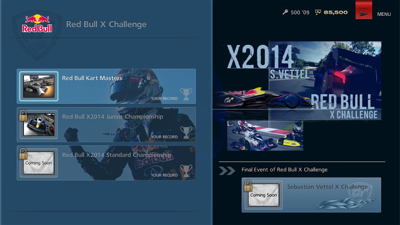 GT6 desafio Red Bull