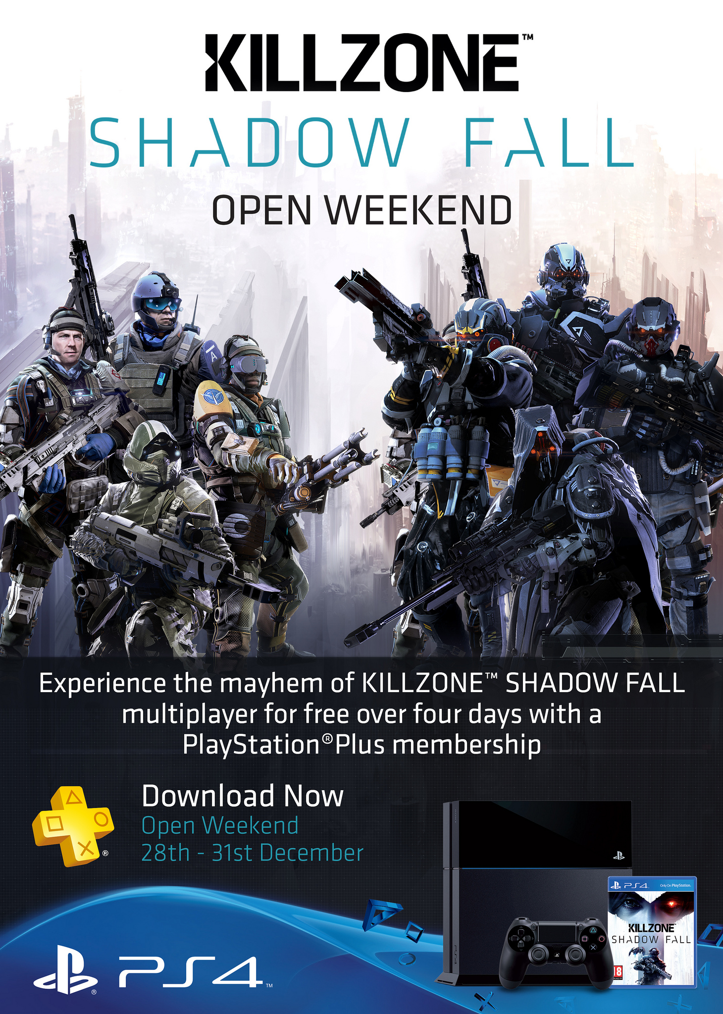 Killzone Shadow Fall MP Open Weekend