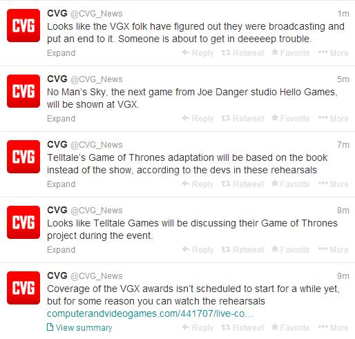 VGX surprises