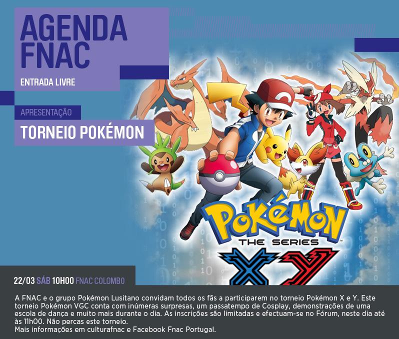 Torneio Pokemon FNAC Colombo