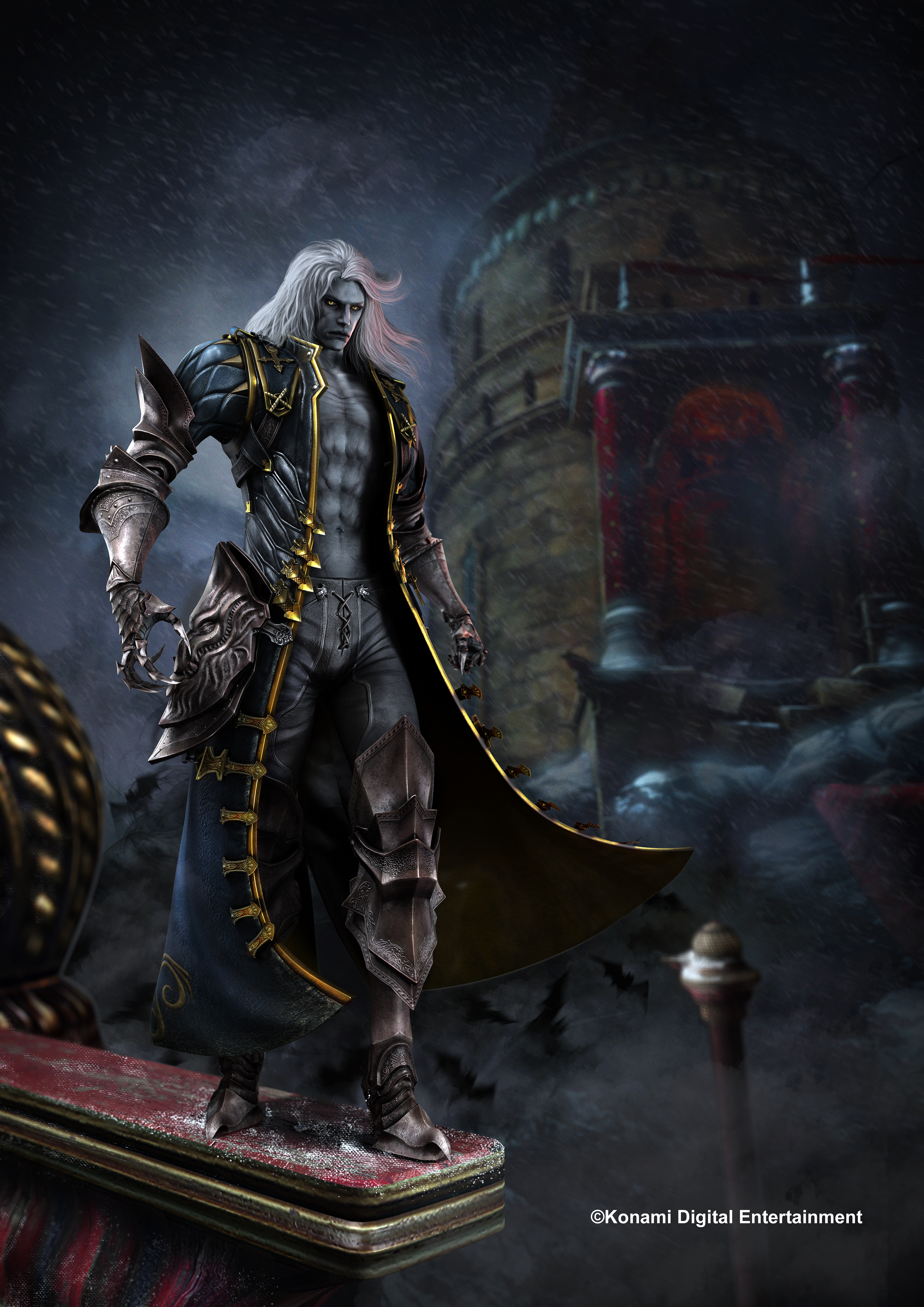 castlevania los2-alucard-dlc art