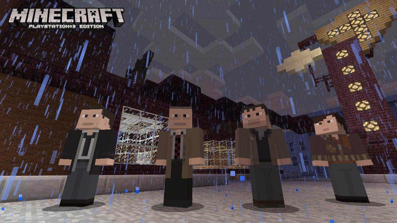 Minecraft heavy rain