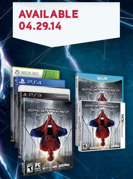 The Amazing Spider-Man 2 video game delayed