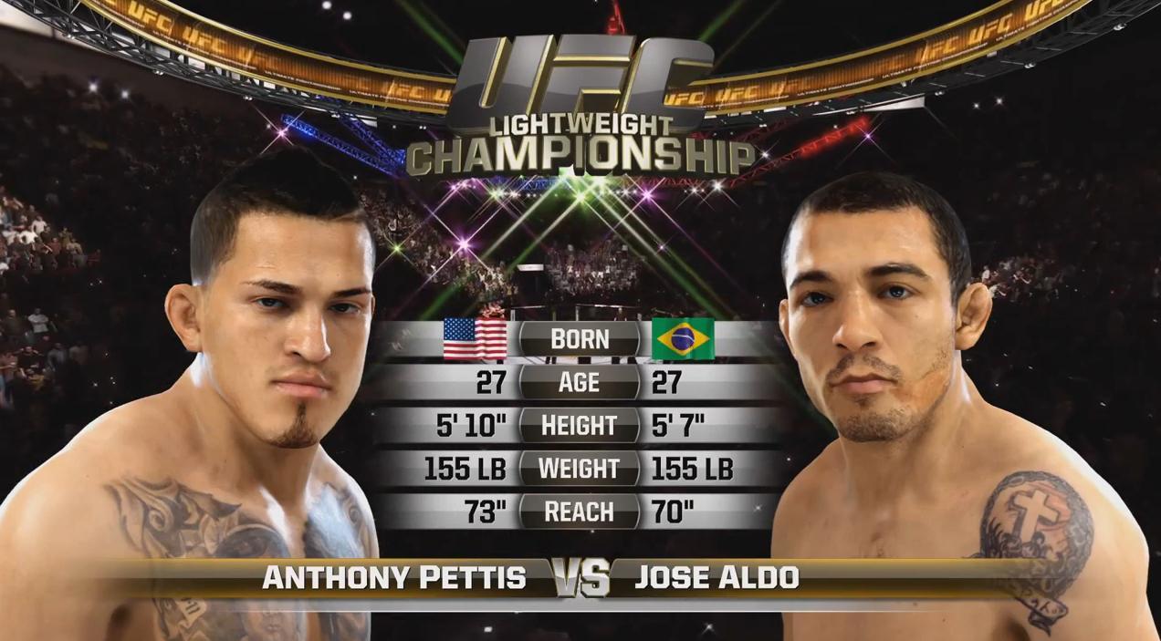 Photo of EA Sports UFC – Jose Aldo vs. Anthony Pettis Gameplay Trailer