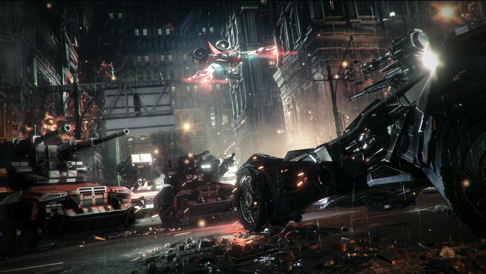 Photo of Batman: Arkham Knight – Batmobile Battle Mode Gameplay