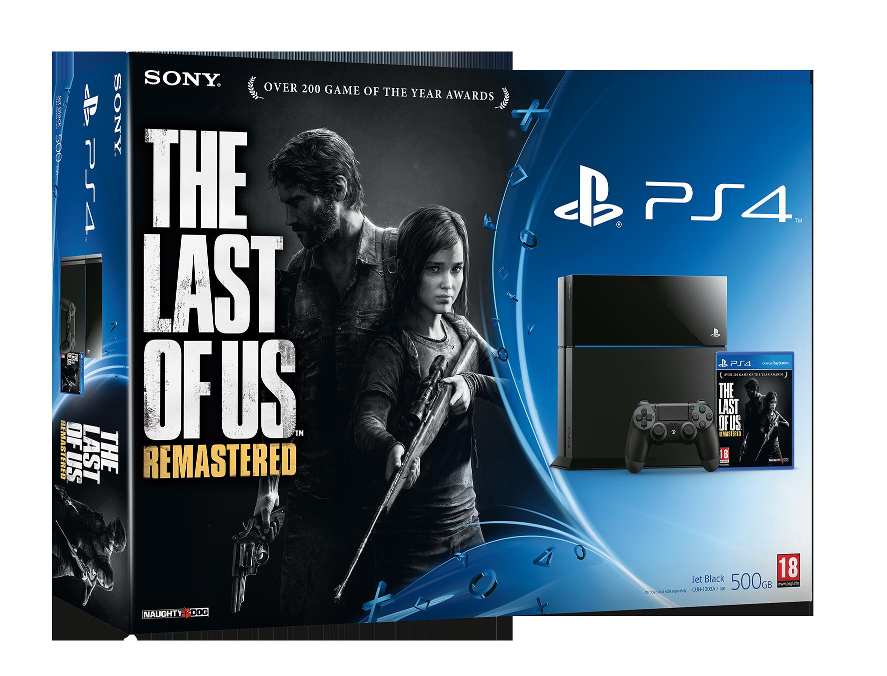 PS4 The Last of Us Remasterd bundle