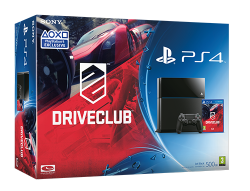 PS4 Driveclub bundle