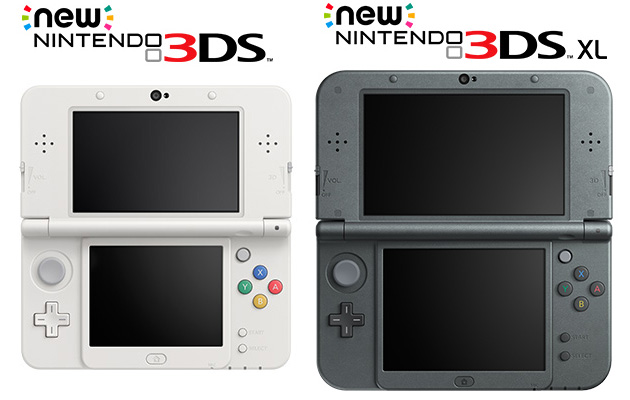 new 3ds and new 3ds xl