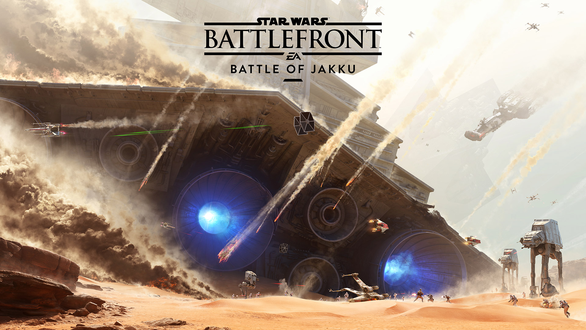 Photo of Star Wars: Battlefront – Battle of Jakku Teaser Trailer