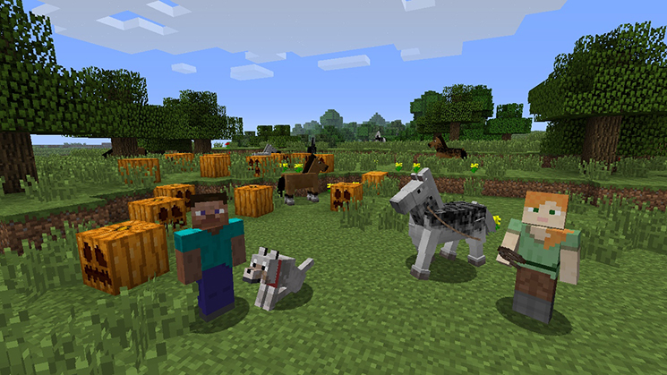 Minecraft Wii U Edition review 1