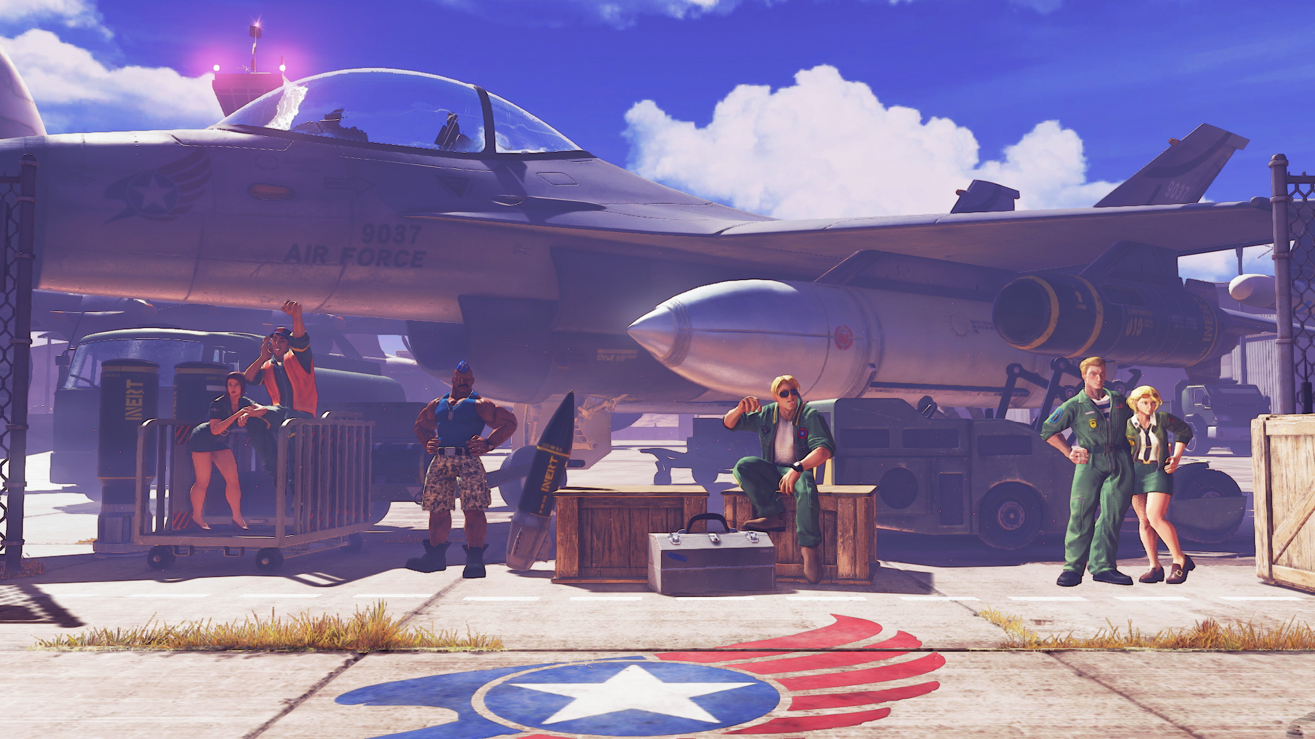Street Fighter V Air Force Base