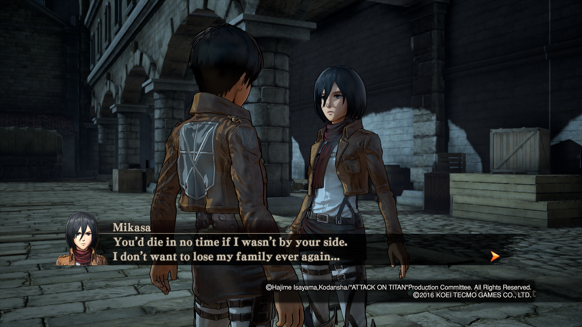 AOT Wings of Freedom review 3