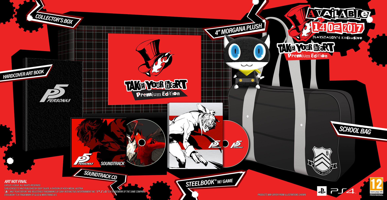 """Persona 5 """"Take Your Heart"""" Premium Edition"""