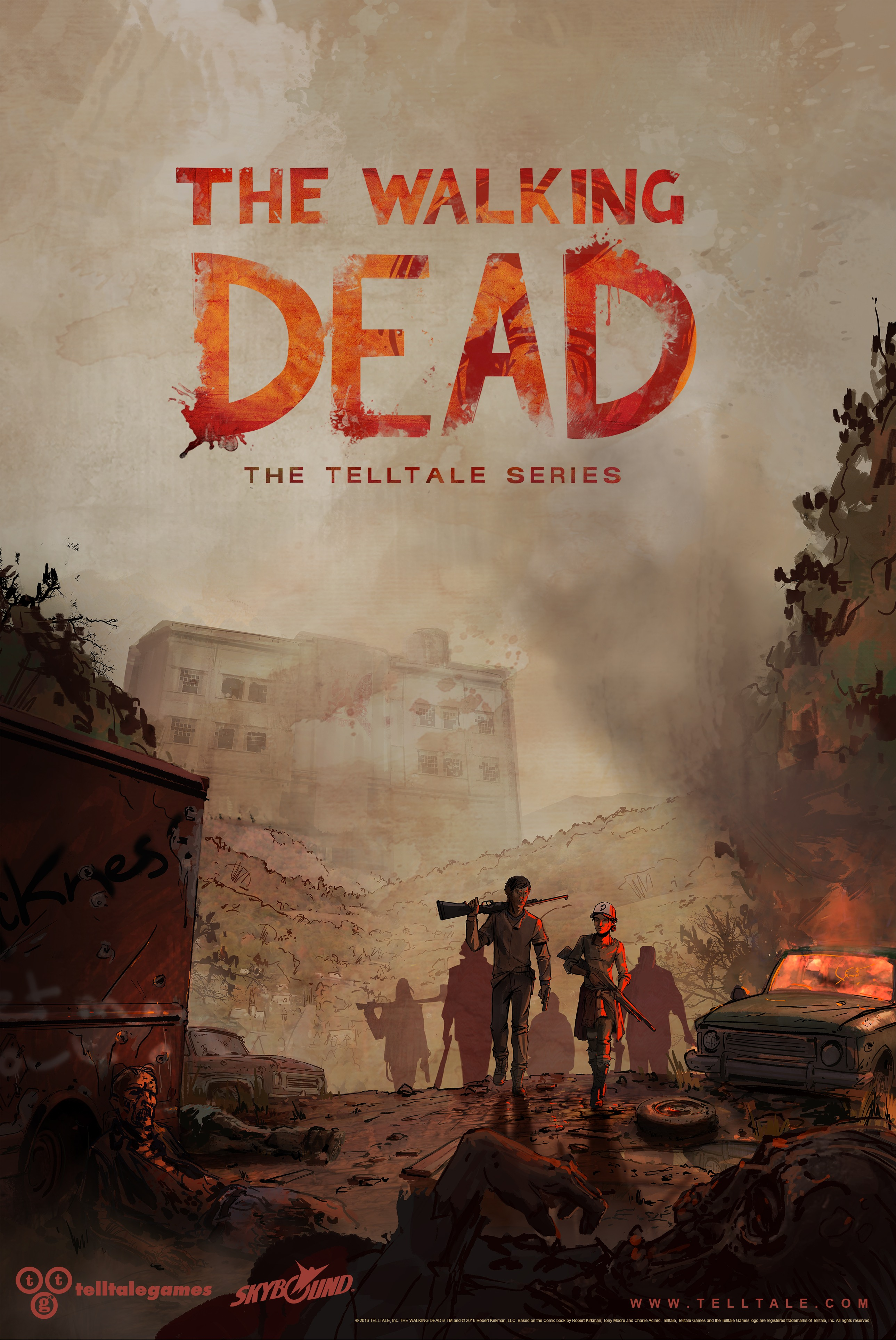 The Walking Dead A Telltale Series - A New Frontier poster