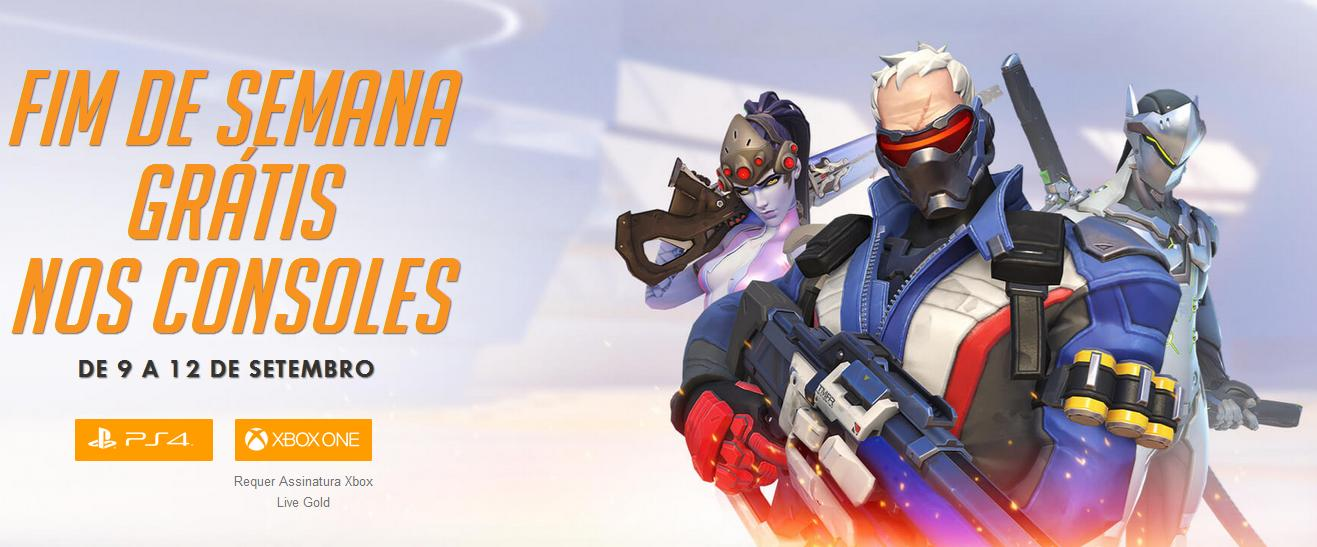 overwatch free weekend ps4 xbox one
