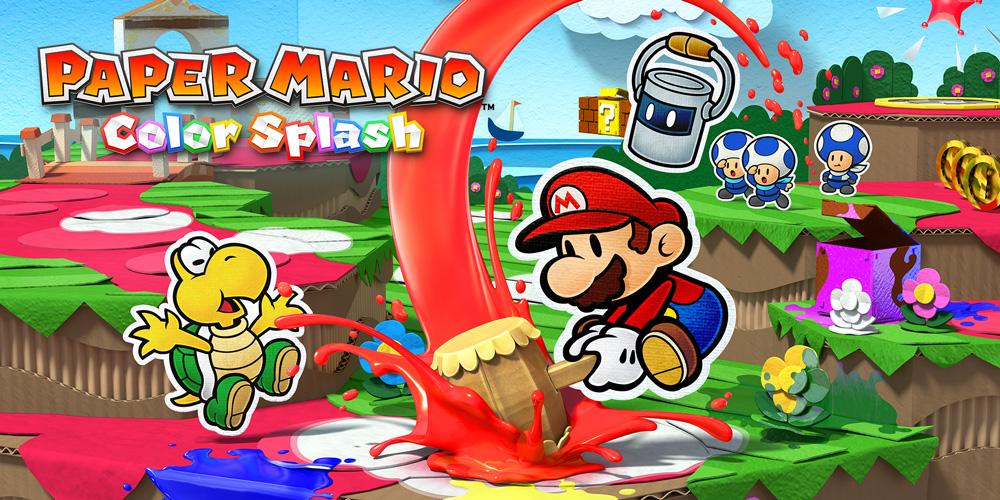 Photo of Paper Mario Color Splash