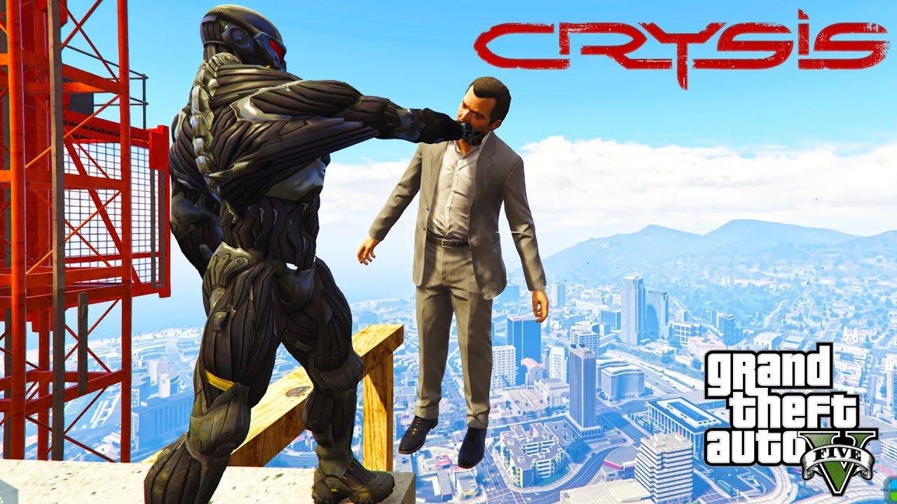 Photo of Mod de Crysis 1 e 2 para GTA V
