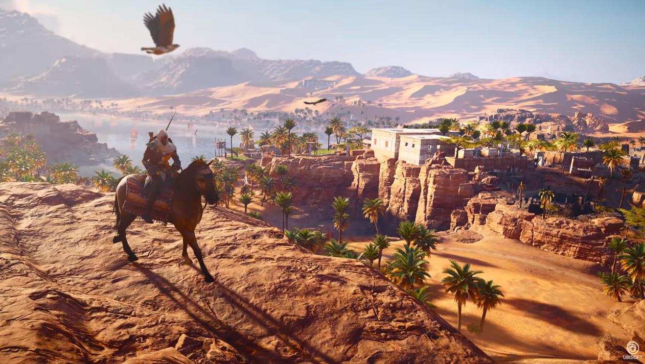 Photo of Primeiros trailers de Assassin's Creed: Origins