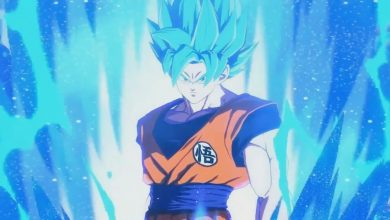 Photo of Super Saiyan Blue Goku em destaque no novo trailer de Dragon Ball FighterZ