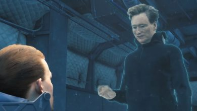 Photo of Conan O'Brien está presente em Death Stranding