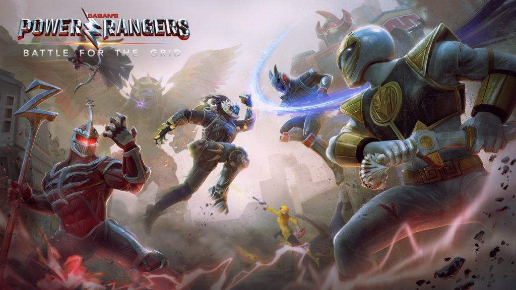 Power Rangers Battle For The Grid Adiciona Cross Play Com Todas