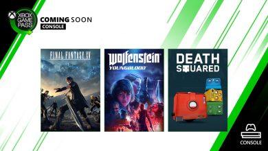 Photo of Final Fantasy XV e Wolfenstein: Youngblood a caminho do Xbox Game Pass