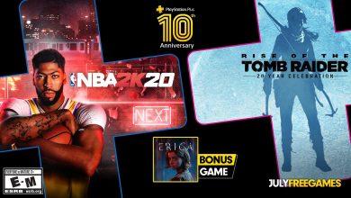Photo of Rise of the Tomb Raider, NBA 2K20 e Erica no PS Plus em Julho