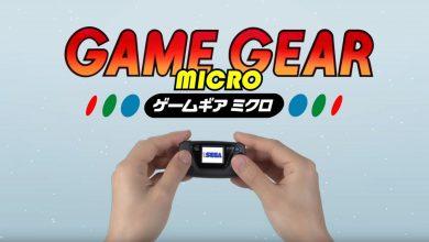 Photo of SEGA anuncia Game Gear Micro