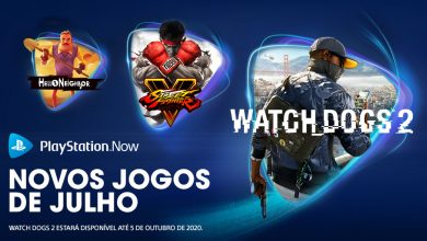 Photo of Watch Dogs 2 e Street Fighter V chegam ao PS Now